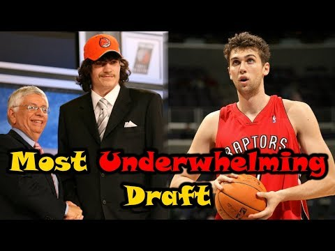 Meet The 2006 NBA Draft: The Most UNDERWHELMING Draft Ever!