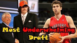 Video Meet The 2006 NBA Draft: The Most UNDERWHELMING Draft Ever! MP3, 3GP, MP4, WEBM, AVI, FLV November 2018