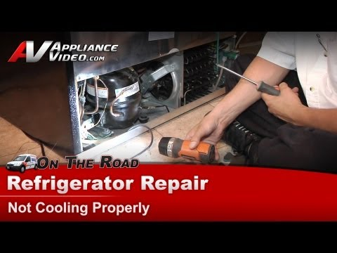 Frigidaire Refrigerator Repair – Not Cooling Properly – PLHS37EGSB1