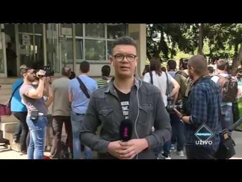 Prvo saslušanje Nataše Bekvalac i Luke Lazukića – video
