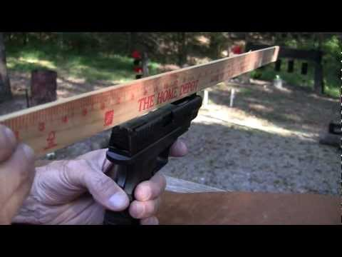 how to adjust xdm rear sights