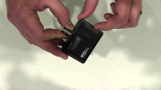microSD Accessible Wide Open Gopro Frame Mount for Hero 3/3 Plus Unboxing