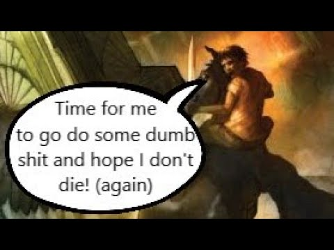 Percy Jackson and the Olympians In A Nutshell