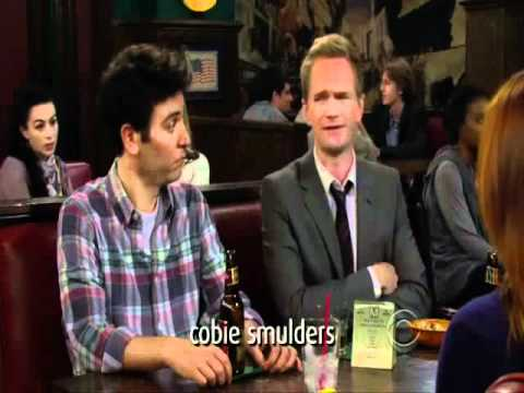 How i met your mother Barney and Lily's boobs