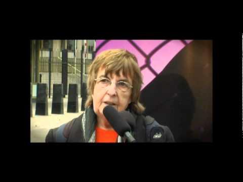 Joy Hurcombe Speaking at the JFAC Rally