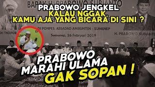 Video GAK SOPAN KE ULAMA ! Prabowo Mulai Terlihat Aslinya di Sumenep MP3, 3GP, MP4, WEBM, AVI, FLV Mei 2019
