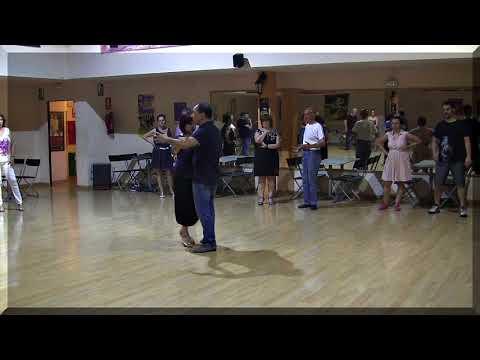 Clase de tango, Pablo y Beatriz Ojeda, argentinos 25 años en Madrid  Parte 2Clase de tango, Pablo y Beatriz Ojeda, argentinos 25 años en Madrid  Parte 2