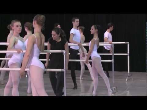 Ballet San Jose School Master Class with Kate Lydon (ABT)