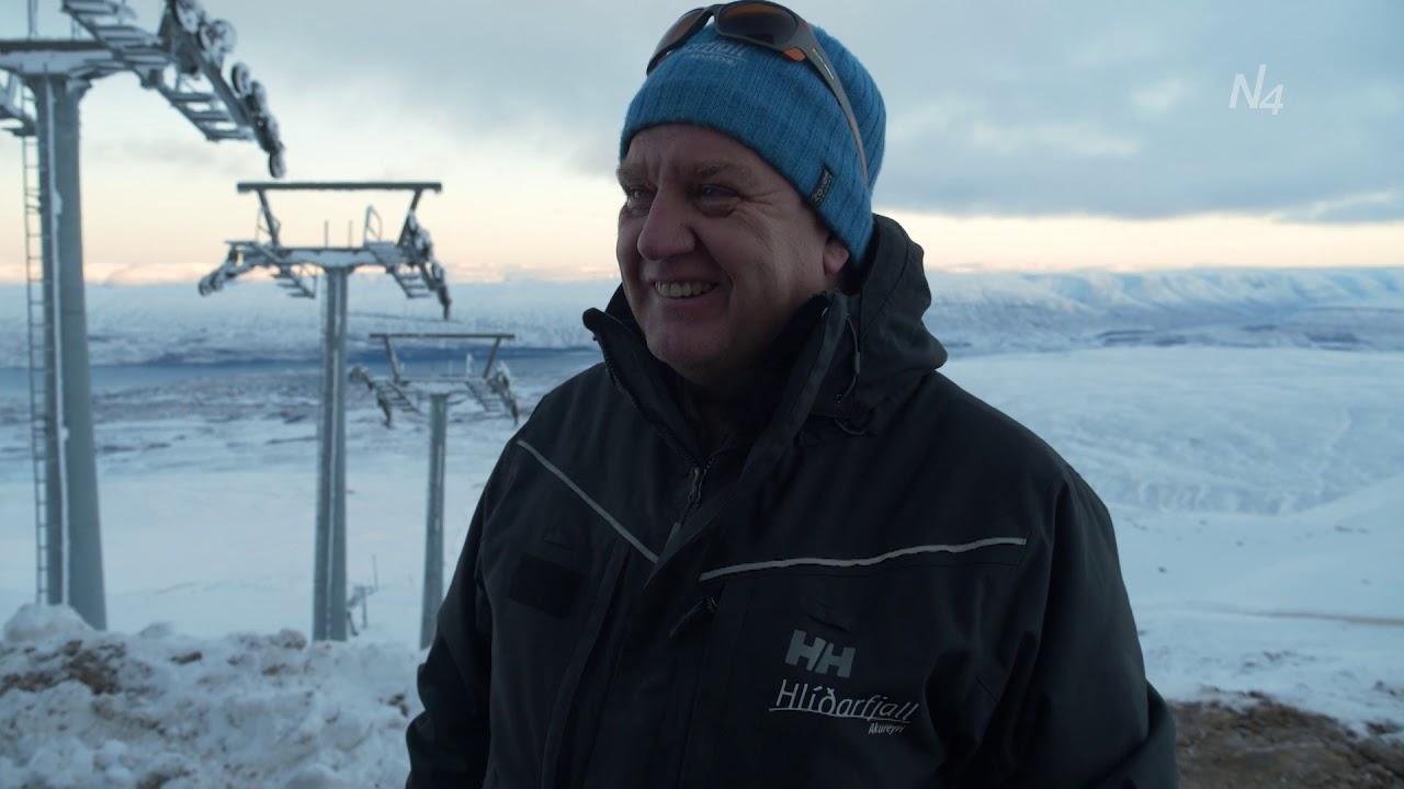 Nýja lyftan í Hlíðarfjalli algjör bylting - AkureyriThumbnail not found