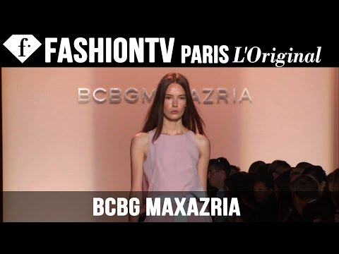 fashiontv - http://www.FashionTV.com/videos NEW YORK CITY - See BCBGMAXAZRIA's new collection for Spring/Summer 2015 on the runway at Mercedes-Benz New York Fashion Week...