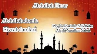 Download Lagu 62.Abdulloh domla - Payg'ambarimiz Sallollohu Alayhi Vasallam vafoti Mp3