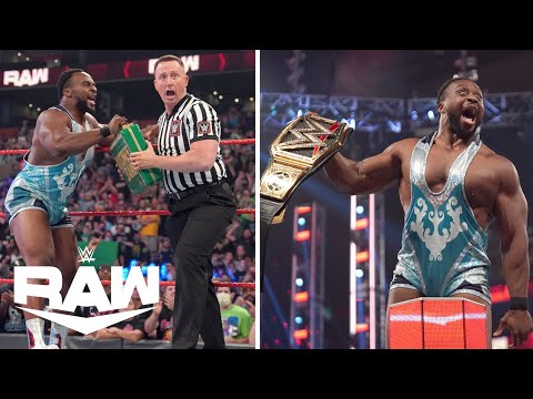 Big E Cashes In on Bobby Lashley to Become WWE CHAMPION!   WWE Raw Highlights 9/13/21   WWE on USA