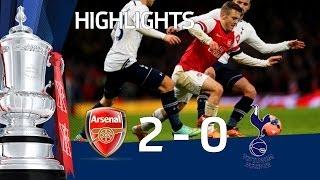 Video ARSENAL vs TOTTENHAM HOTSPUR 2-0: Official Goals & Highlights FA Cup Third Round MP3, 3GP, MP4, WEBM, AVI, FLV November 2018