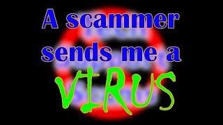 Video A scammer sends me a virus! - Part 1 MP3, 3GP, MP4, WEBM, AVI, FLV Desember 2018