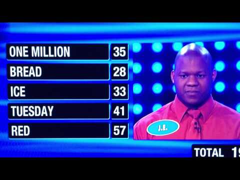 Family Feud 1st Contestant gets 194 points! AWESOME! [video]