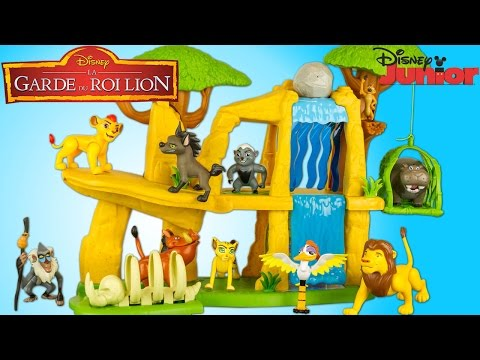 La Garde du Roi Lion Kion Terre des Lions 10 Figurines Lion Guard Pride Lands Playset Disney Jouet