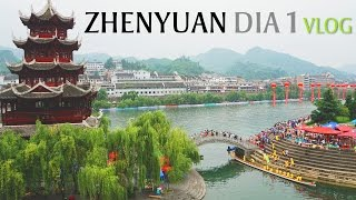 Zhenyuan (Guizhou) China  city photos gallery : Fomos assistir ao Festival do Dragon Boat em Zhenyuan 1/2 ::: 2 A Mais VLOG