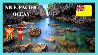 Let's go to the island nation of Niue which is a small island nation in the South Pacific Ocean. It's known for its limestone cliffs and...