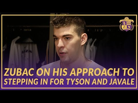 Video: Lakers Post Game: Zubac On Having 2 Solid Games In a Row Filling In As the Starter
