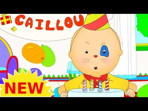 NEW! CAILLOU BIRTHDAY PARTY | Cartoons for kids | Funny Animated Cartoons for Children