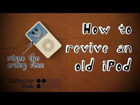 iPod - This tutorial is for those of you that love to tear apart old technology to make it useful again. Someone gave me a broken 5th Generation iPod classic, and i...