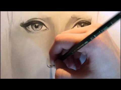 Lady Gaga Portrait zeichnen