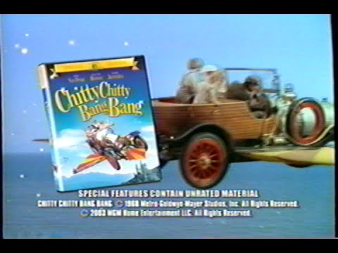 Chitty Chitty Bang Bang (1968) - Special Edition DVD (2003) Promo (VHS Capture)