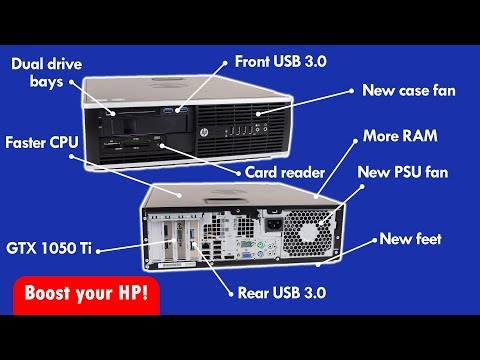 Improve your HP Elite Small Form Factor PC