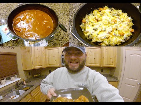 WORLDS GREATEST DUTCH OVEN POTATOES AND BBQ CHICKEN RECIPE