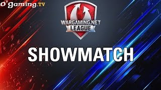 Showmatch World of Warships - WOT Wargaming Gold League Europe