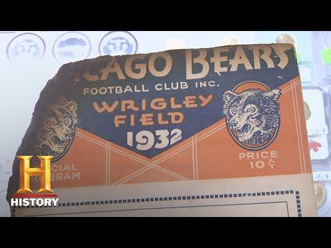 Pawn Stars: 1932 Bears vs. Spartans Football Program (Season 6) | History