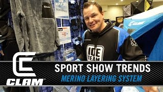 2016 SPORT SHOW TRENDS: Guide and Clam Outdoors Pro Jason Durham fishes hard in the winter months and knows what it takes to last out in the eliminates. Watc...