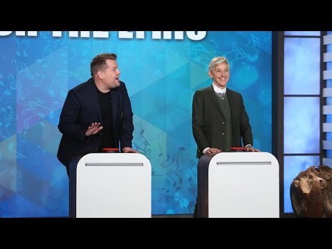 Finish the Lyric with Ellen James Corden  Jesse Tyler