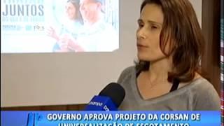 Governo aprova projeto da Corsan de universalização de esgotamento. #JornaldaPampa