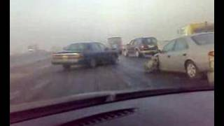 Dhahran Saudi Arabia  city photos : Accidents on A Foggy Day in Dhahran, Saudi Arabia