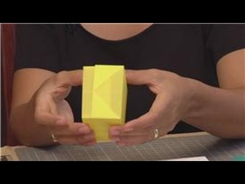 box - Making gift boxes out of regular paper is a great method of custom wrapping a small gift in a unique way. Fold a small gift box using any type of paper with ...