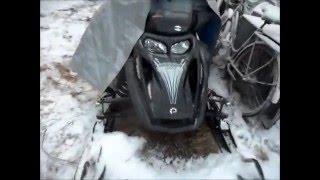 2. Ski-Doo 550 GTX test drive 2016