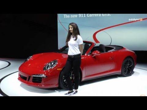 LA Auto Show: 2015 Porsche 911 Carrera GTS