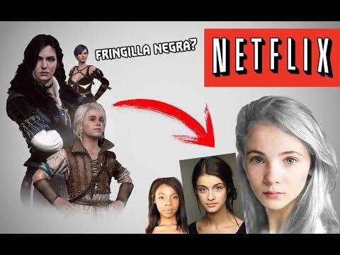 The Witcher Netflix - YENNEFER, CIRI y FRINGILLA NEGRA??