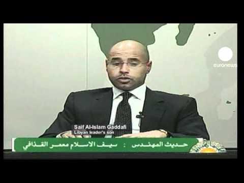 Líbia: filho de Kadhafi alerta para risco de guerra civil