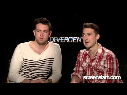 Divergent: Exclusive Interiew with Ben Lloyd Hughes & Chistian Madsen