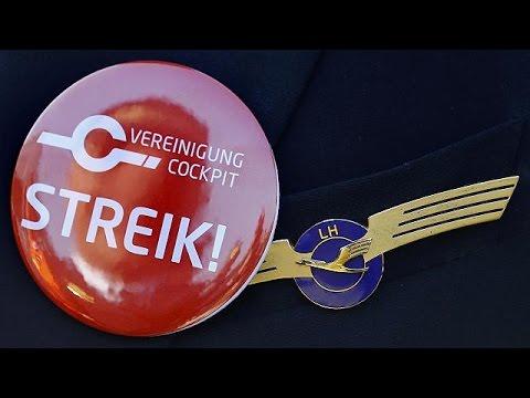 Δεκάδες ακυρώσεις πτήσεων λόγω απεργιών σε Eurowings και Lufthansa