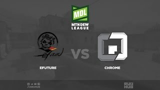 eFuture vs Chrome - ESEA Premier Season 24 - de_mirage [sleepsomewhile]
