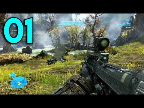 Halo Reach - Part 1 - The Beginning (PC Gameplay)