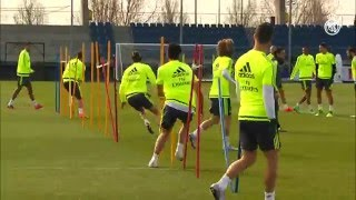 Video Real Madrid complete final training session before the Celta game MP3, 3GP, MP4, WEBM, AVI, FLV September 2018