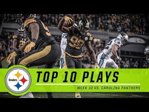 Steelers Best Plays from Week 10 vs. Panthers   Top 10