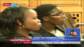 Embattled Tunoi wants High Court Judge residing over his case to set down