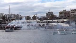 Θεοφάνεια 2017 στο λιμάνι της Ραφήνας