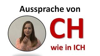 """Aussprache von """"CH"""""""