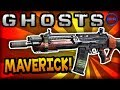 "Call of Duty: Ghost ""MAVERICK"" - BEST CLASS SETUP! (Assault Rifle) - COD Ghosts Gameplay"
